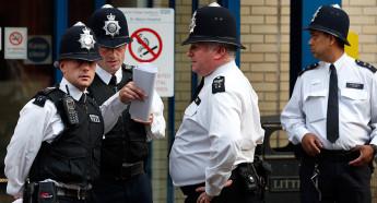 В Великобритании существуют четыре типа полицейских структур