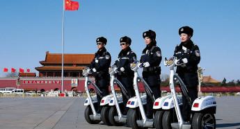 В системе полиции КНР действуют десять служб